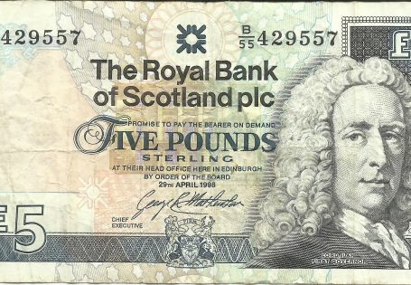 Scotland 5 Pounds